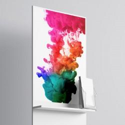 PVC composite blanco