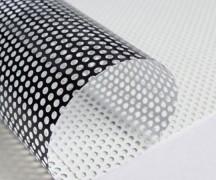Vinilo microperforado cristal